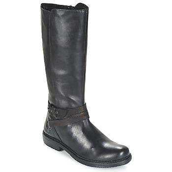 鞋子 女士 短筒靴 Kickers MOTCAST 黑色