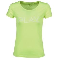 衣服 女士 短袖体恤 Only Play BASIC 黄色