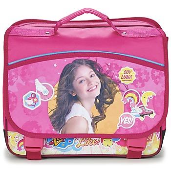 包 女孩 書包 Disney SOY LUNA CARTABLE 38CM 玫瑰色