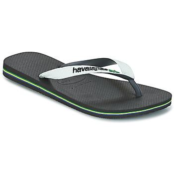 鞋子 人字拖 Havaianas 哈瓦那 BRASIL MIX 白色 / 黑色