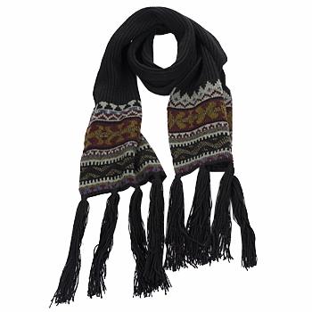 纺织配件 女士 围巾/披肩 Essentiel ZILE 黑色 / 卡其色