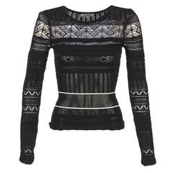 衣服 女士 羊毛衫 Morgan MARAI 黑色
