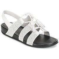 鞋子 女士 凉鞋 FitFlop GLADDIE LACEUP SANDAL 白色