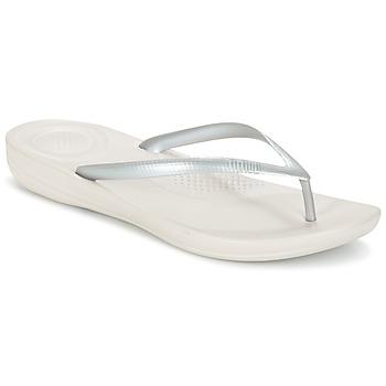 鞋子 女士 人字拖 FitFlop IQUSHION ERGONOMIC FLIP-FLOPS 金色 / 銀灰色