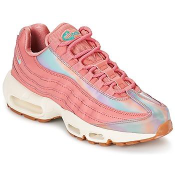 鞋子 女士 球鞋基本款 Nike 耐克 AIR MAX 95 SE W 玫瑰色