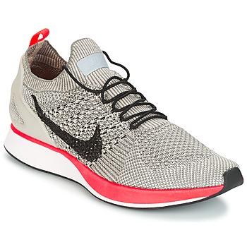 鞋子 女士 球鞋基本款 Nike 耐克 AIR ZOOM MARIAH FLYKNIT RACER PREMIUM W 灰色 / 玫瑰色