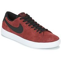 鞋子 男士 球鞋基本款 Nike 耐克 BLAZER VAPOR LOW SB 波尔多红 / 白色