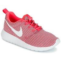 鞋子 女孩 球鞋基本款 Nike 耐克 ROSHE ONE GRADE SCHOOL 玫瑰色 / 白色