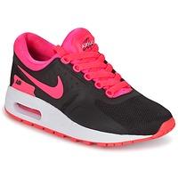 鞋子 女孩 球鞋基本款 Nike 耐克 AIR MAX ZERO ESSENTIAL GRADE SCHOOL 黑色 / 玫瑰色