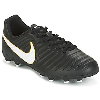 鞋子 儿童 足球 Nike 耐克 TIEMPO RIO IV FG JUNIOR 黑色 / 白色