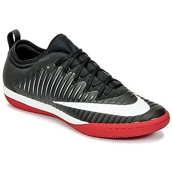 鞋子 男士 足球 Nike 耐克 MERCURIALX FINALE II IC 黑色 / 白色 / 红色
