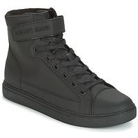 鞋子 男士 高帮鞋 Armani jeans JEFEM 黑色