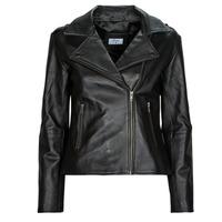 衣服 女士 皮夹克/ 人造皮革夹克 Betty London IGADITE 黑色