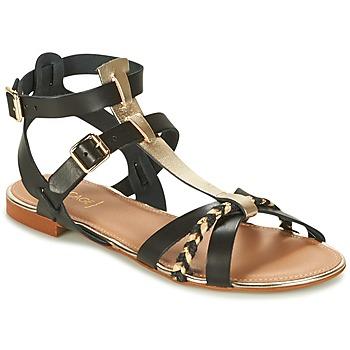 鞋子 女士 凉鞋 Bocage JARET 黑色 / 金色