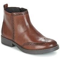 鞋子 女孩 短筒靴 Geox 健乐士 J SOFIA F 棕色