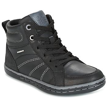 鞋子 男孩 高帮鞋 Geox 健乐士 J GARCIA B. B 黑色 / 灰色