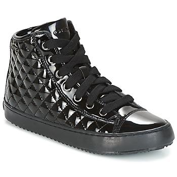 鞋子 女孩 高帮鞋 Geox 健乐士 J KALISPERA G.F 黑色
