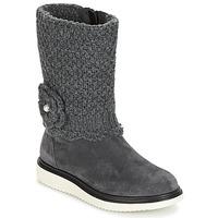 鞋子 女孩 都市靴 Geox 健乐士 J THYMAR G. F 灰色