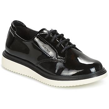 鞋子 女孩 德比 Geox 健乐士 J THYMAR G. B 黑色