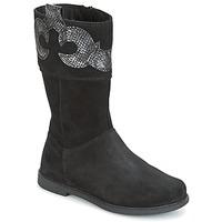 鞋子 女孩 都市靴 Geox 健乐士 J SHAWNTEL G. C 黑色