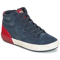 鞋子 男孩 高帮鞋 Geox 健乐士 J ALONISSO B. A 海蓝色 / 红色