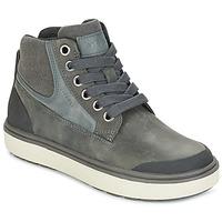 鞋子 男孩 高帮鞋 Geox 健乐士 J MATT.B ABX C 灰色