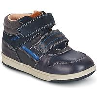 鞋子 男孩 高帮鞋 Geox 健乐士 B NEW FLICK B. A 海蓝色 / 蓝色