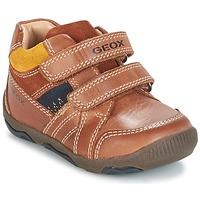 鞋子 男孩 球鞋基本款 Geox 健乐士 B N.BALU' B. B 棕色