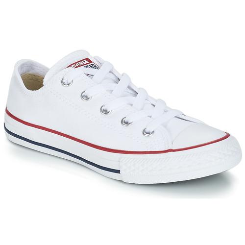 鞋子 儿童 球鞋基本款 Converse 匡威 CHUCK TAYLOR ALL STAR CORE OX 白色 / Optical