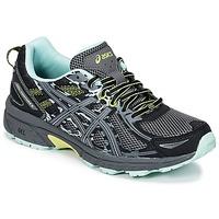 鞋子 女士 跑鞋 Asics 亚瑟士 GEL-VENTURE 6 黑色 / 绿色