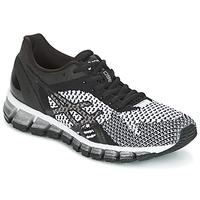 鞋子 女士 跑鞋 Asics 亚瑟士 GEL-QUANTUM 360 KNIT 黑色 / 白色