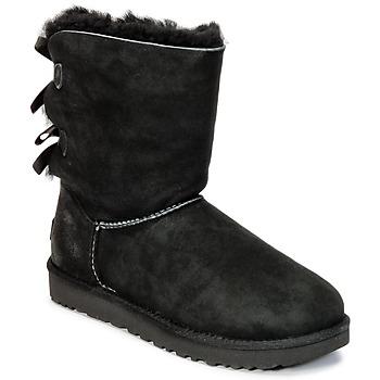 鞋子 女士 短筒靴 UGG BAILEY BOW II 黑色