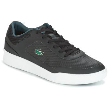 鞋子 男士 球鞋基本款 Lacoste EXPLORATEUR SPORT 黑色 / 绿色