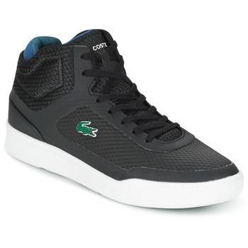 鞋子 男士 高帮鞋 Lacoste EXPLORATEUR SPT MID 黑色 / 绿色