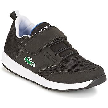 鞋子 儿童 球鞋基本款 Lacoste L.IGHT 黑色 / 灰色