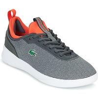 鞋子 男士 球鞋基本款 Lacoste LT SPIRIT 2.0 灰色 / 红色