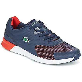 鞋子 男士 球鞋基本款 Lacoste LTR.01 海蓝色 / 红色