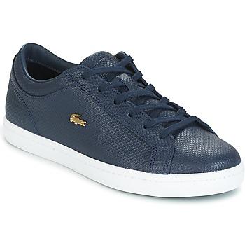 鞋子 女士 球鞋基本款 Lacoste STRAIGHTSET 海蓝色