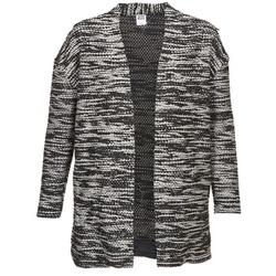 衣服 女士 羊毛开衫 Vero Moda NELLA 黑色 / 灰色 / 中国红