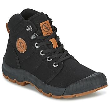 鞋子 女士 短筒靴 Aigle TENERE LIGHT W 黑色