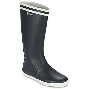 鞋子 男士 雨靴 Aigle GOELAND 海蓝色 / 白色