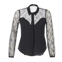衣服 女士 衬衣/长袖衬衫 Morgan RESTY 黑色
