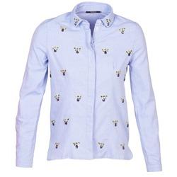 衣服 女士 衬衣/长袖衬衫 Kookai MAYA 蓝色
