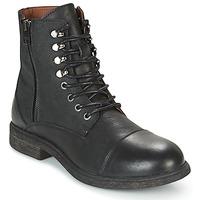 鞋子 男士 短筒靴 Selected 思莱德 TREVOR 黑色