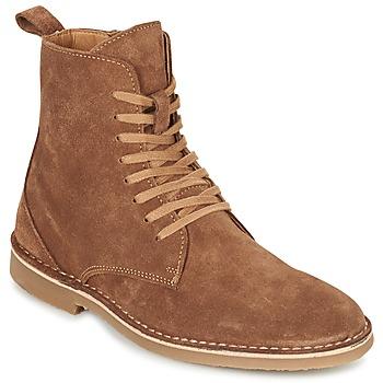 鞋子 男士 短筒靴 Selected 思莱德 ROYCE HIGH 棕色