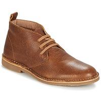 鞋子 男士 短筒靴 Selected 思莱德 ROYCE CHUKKALA 棕色