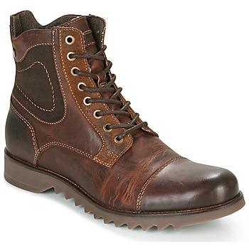 鞋子 男士 短筒靴 Jack & Jones 杰克琼斯 DEAN LEATHER 棕色