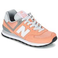 鞋子 女士 球鞋基本款 New Balance新百伦 WL574 桃色