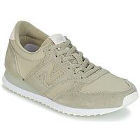 鞋子 女士 球鞋基本款 New Balance新百伦 WL420 米色