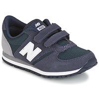 鞋子 儿童 球鞋基本款 New Balance新百伦 KE421 海蓝色 / 灰色